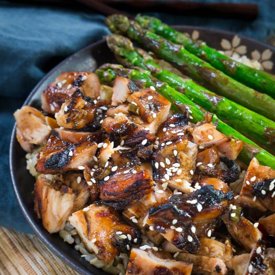 Easy Teriyaki Chicken Bowl Recipe